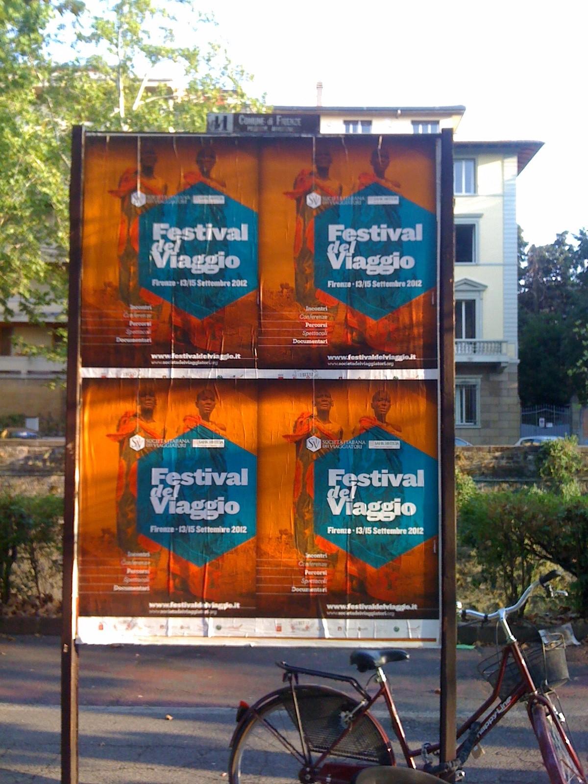 Manifesti Festival del Viaggio – Settembre 2012