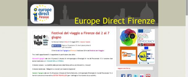 Edifirenze –  Festival del viaggio a Firenze dal 2 al 7 giugno