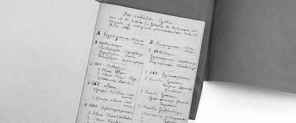 Das Herbarium