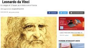 La Nazione – In scooter dalla Toscana alla Francia nel nome di Leonardo da Vinci