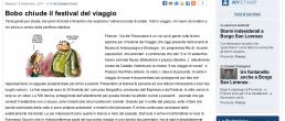 Stamp Toscana – Bobo chiude il Festival del Viaggio