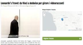 Geos News – Leonardo's Travel: da Vinci a Amboise per girare i videoracconti