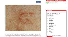 Go news – Dalla Toscana in Francia in scooter alla scoperta del genio di Leonardo