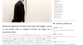 In Toscana – Leonardo's travel: da Vinci a Amboise per girare i videoracconti
