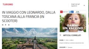In toscana –  In viaggio con Leonardo, dalla Toscana alla Francia (in scooter)